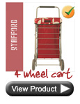 Stafford 4 Wheel Shopping Cart