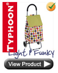 Typhoon Lightweight Funky Polka Dot Trolley