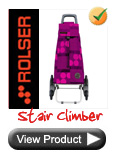 Rolser 6 Wheeler Stair Climber Trolley