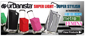 Urbanista super light shopping trolleys