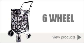 6 Swivel Wheel Shopping Trolleys