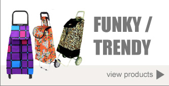 Funky / Trendy Shopping Trolleys
