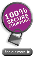 100% Secure - shop with confidence