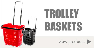 Trolley Baskets / Shopping Basket on Wheels