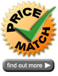 Our price match promise
