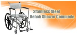 Rehab Shower Commode