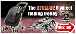 Secc ultimate 6 wheel trolley
