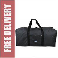 5 Cities XL Holdall Massive 36inch 141L Jumbo Lightweight Duffle Bag 90cm - Black (NO WHEELS)