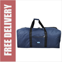 5 Cities XL Holdall Massive 36inch 141L Jumbo Lightweight Duffle Bag 90cm - Navy (NO WHEELS)