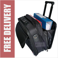 Wheeled Laptop Bag Bussiness Briefcase on Wheels Roller Trolley Case Cabin Bag