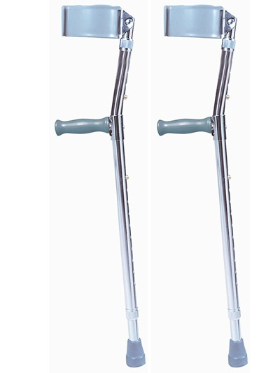 Adult Steel Forearm Crutches (Sold as pair)