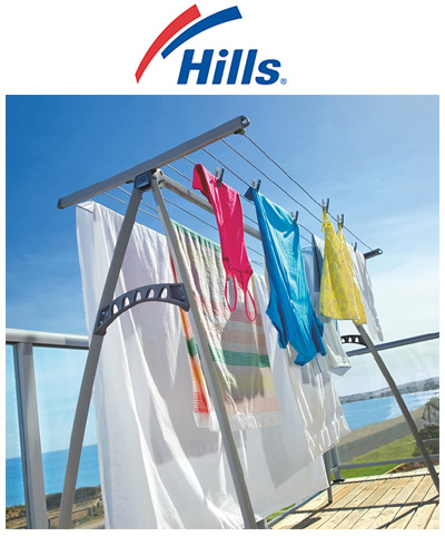 Hills Portable 170 Clothes Airer Dryer