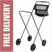 Hills Deluxe Panache Laundry Trolley with Peg Bag