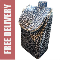 Hoppa Black Giraffe Print Replacement Spare Bag (BAG ONLY)