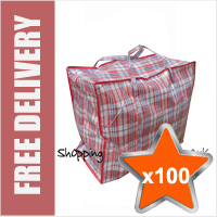 100 x Large Laundry Bags