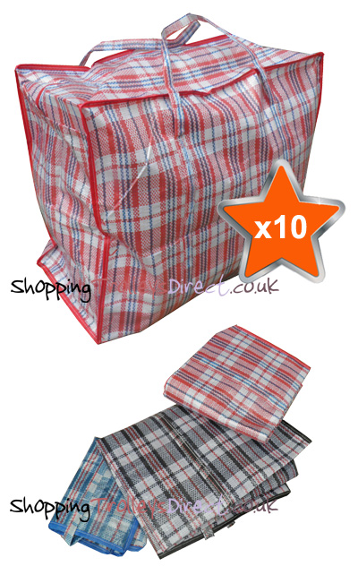 10 x Large Laundry Bags