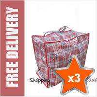 3 x Large Laundry Bags