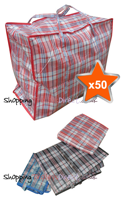 50 x Large Laundry Bags