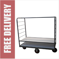Picking Trolley with Adjustable Height Shelves