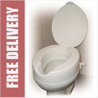 Raised Toilet Seat With 2inch Lid