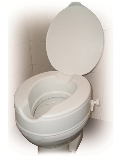 Raised Toilet Seat With 6inch Lid