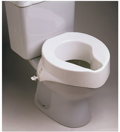 Raised Toilet Seat 6inch Without Lid