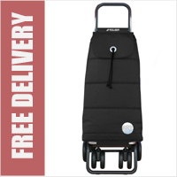Rolser Pack Tour Polar Swivelling Front Wheels Shopping Trolley Black