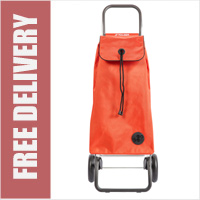 Rolser Mountain I-Max Original 2 Wheel Shopping Trolley Orange