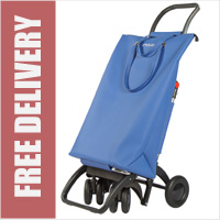 Rolser Pack Tour SuperBag Blue Swivelling Front Wheels Shopping Trolley