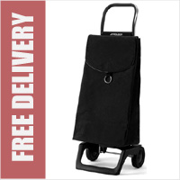 Rolser Pep Joy 2 Wheel Shopping Trolley Black