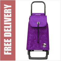 Rolser Baby Angel Purple 2 Wheel Shopping Trolley