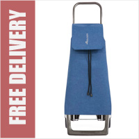 Rolser Jet TWEED 2 Wheel Shopping Trolley Blue