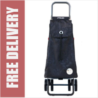 Rolser Pack Angel 4 Wheel Shopping Trolley Black