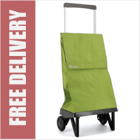 Rolser Plegamatic Original Folding Trolley Lime Green