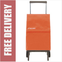 Rolser Plegamatic Original Folding Trolley Orange