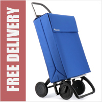 Rolser Jean 4 Wheel Shopping Trolley Blue