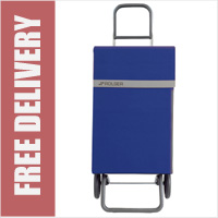 Rolser Jean 2 Wheel Shopping Trolley Blue