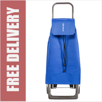 Rolser Jet 2 Wheel Shopping Trolley Blue