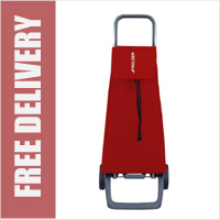 Rolser Jet 2 Wheel Shopping Trolley Red