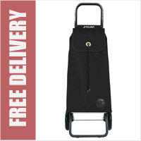 Rolser Mountain I-Max Original 2 Wheel Shopping Trolley Black