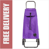 Rolser Mountain I-Max Original 2 Wheel Shopping Trolley Purple