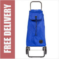 Rolser Mountain I-Max Original 2 Wheel Shopping Trolley Blue