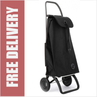 Rolser Pack Original 2 Wheel Shopping Trolley Black