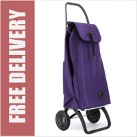 Rolser Pack Original 2 Wheel Shopping Trolley Purple