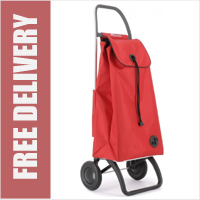 Rolser Pack Original 2 Wheel Shopping Trolley Red
