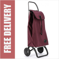Rolser Pack Original 2 Wheel Shopping Trolley Wine