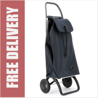 Rolser Pack Original 2 Wheel Shopping Trolley Blue Grey