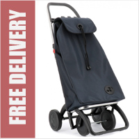 Rolser Pack 4 Wheel Shopping Trolley Blue/Grey