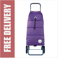 Rolser Pack Polar 2 Wheel Shopping Trolley Purple