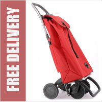 Rolser Pack 4 Wheel Shopping Trolley Red